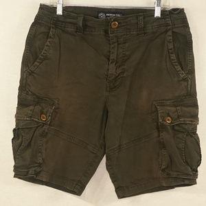 AEO mens cargo shorts extreme flex EUC 34